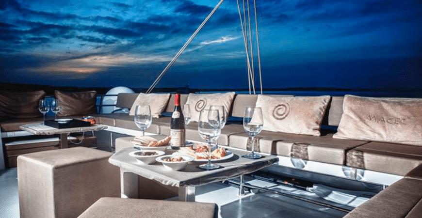 Alquiler de barco con chef