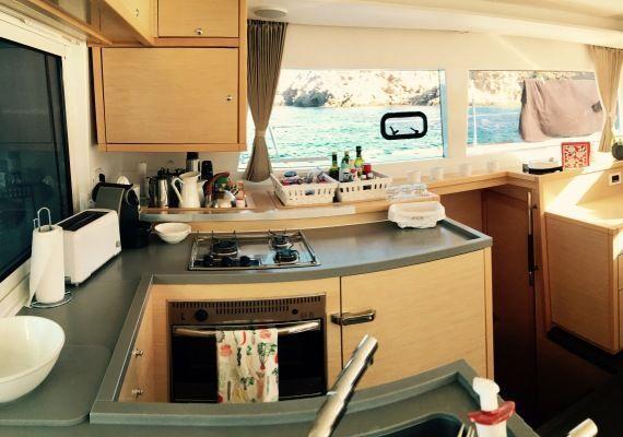 Cocina Catamarán Lagoon 450