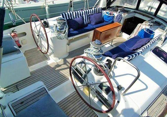 Timón del velero beneteau50