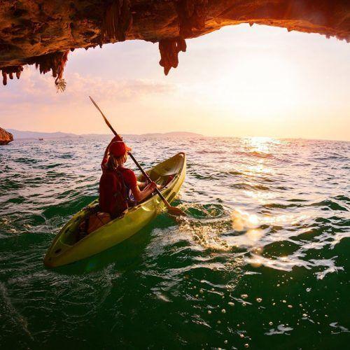 Experiencias con Kayak
