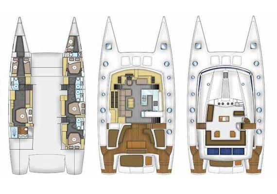 Catamarán Victoria 67