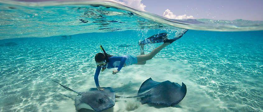 Alquilar barco en Bahamas - Haz snorkel en el caribe
